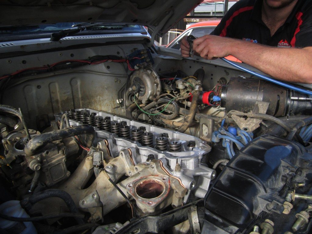 Installing new head on Nissan Patrol 1