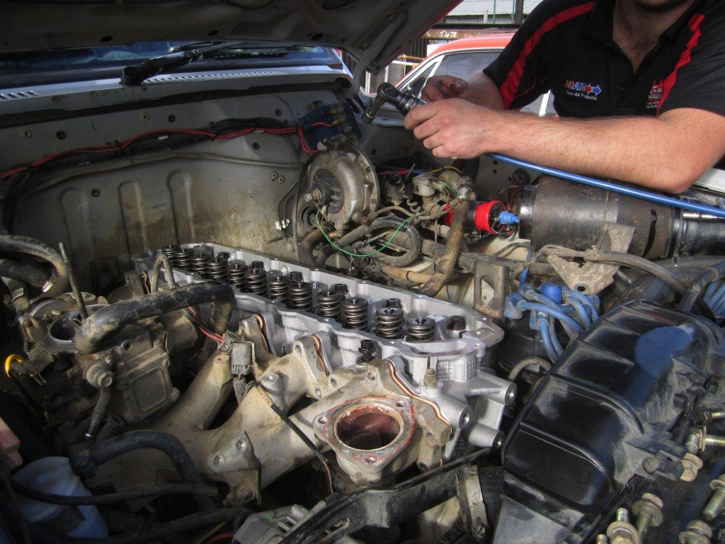 Installing new head on Nissan Patrol 2